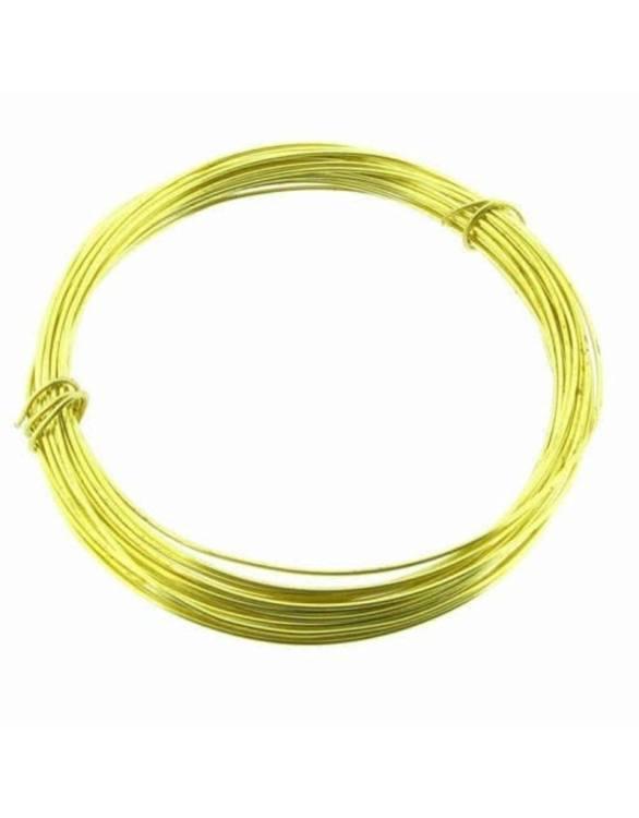 Allen Brass Snare Wire 20ft 22 gauge
