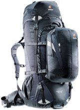 Deuter Quantum 70+10 Travel Backpack Black/Silver