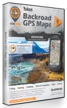 Backroad Map Books Yukon Garmin-Compatible GPS Maps (SD Card)