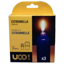 UCO Citronella Candles 3/Pack