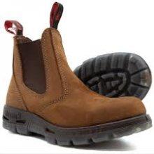 Redback Bobcat SlipOn Leather Work Boots UK 5 Tussock Nubuck