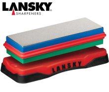 Lansky Double Sided Diamond Benchstone Medium/Fine
