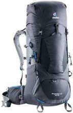 Deuter Aircontact 65+10 Hiking Backpack Graphite/Black