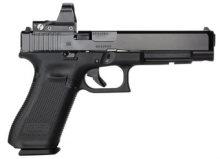 Glock 34 Gen 5 Pistol with Red Dot, 9mm
