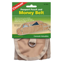 Coghlan's Money Belt & Passport Pouch Tan