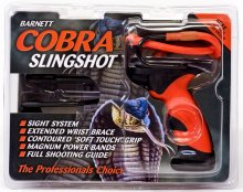 Barnett Cobra Slingshot with Front Sight and Stabilizer