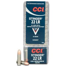 CCI 22 LR HP Stinger