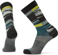 Darn Tough Men's Icefields Crew Lightweight Lifestyle Socks No Cushion Large (Men's 10-12) Grey