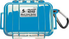 Pelican Products 1010 Micro Case Blue w/transparent lid