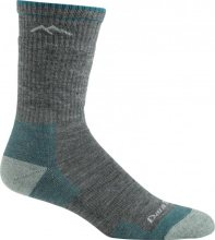 Darn Tough Women's Hiker Boot Midweight Hiking Socks Cushion Large (Women's 10-11.5) Slate