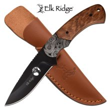 Elk Ridge ER-200-09BR Fixed Blade Knife Brown