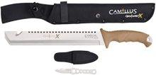 """Camillus Carnivore X 18"""" Titanium Bonded Machete"""