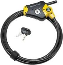 Python Professional Lock With 6 Foot Cable