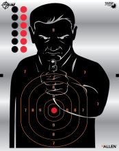 Allen Ez Aim Silhouette Target 4/Pack