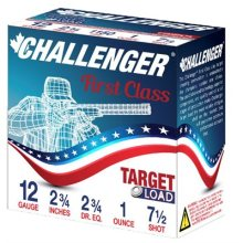 Challenger 12 Gauge 2 3/4 7.5 LL 25 Round