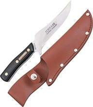"Schrade 15OT Old Timer Deerslayer Skinner Fixed 5.6"" Blade with Leather Sheath"