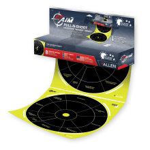 "Allen EZ Aim Pull-N-Shoot Circle Splash Paper Target 12"" x 12"" 8/Pack"