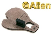 Allen Premium Calf Hair No Pinch Shooting Tab Large