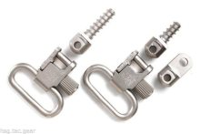 """Uncle Mike's  1"""" Quick-Detach Ruger 10/22 Swivels Stainless"""