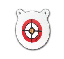 """Allen EZ-Aim 1/8-Inch AR500 10"""" Steel Gong Target White"""