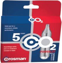 Crosman CO2 Cartridges 5 Pack