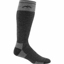 Darn Tough Men's Hunter Over-The-Calf Heavyweight Hunting Socks Full Cushion Large (Men's 10-12) Charcoal