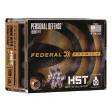 Federal 10mm Auto 200 Grain HST JHP