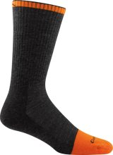 Darn Tough Men's Steely Boot Midweight Work Socks Cushion Large (Men's 10-12) Graphite
