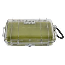 Pelican Products 1030 Micro Case Green w/transparent lid