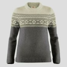 FjallRaven Women's Ovik Scandinavian Sweater Sm Grey