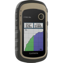 Garmin eTrex 32x Rugged Handheld GPS with Compass and Barometric Altimeter (010-02257-00)
