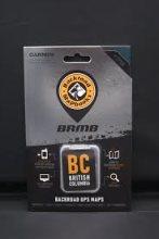 Backroad Map Books British Columbia Garmin-Compatible GPS Maps (SD Card)