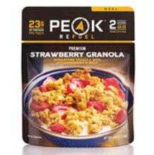 Peak Refuel Strawberries & Granola with Milk  - Pouch