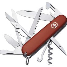 Victorinox Swiss Army Huntsman Multi-Function Knife Red