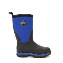 Muck Boots Kid's Rugged II Waterproof Winter Boots C13 Black/Blue