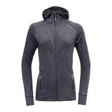 Devold Aksla Woman Jacket with Hood Medium Night