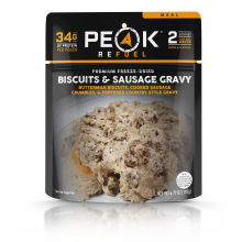 Peak Refuel Biscuits & Gravy with Sausage - Pouch