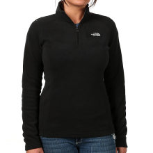 The North Face Women's Glacier Alpine FullZip Med TNF Black