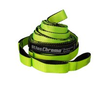 Eagle Nest Outfitters ENO Atlas Chroma Hammock Suspension System Neon/Black