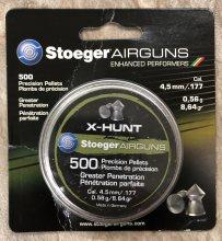 Stoeger .177 X-Hunt Pellets 500/Pack