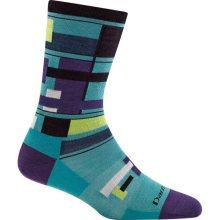 Darn Tough Women's Alexa Crew Lightweight Lifestyle Socks No Cushion Small (Women's 4.5-7) Teal