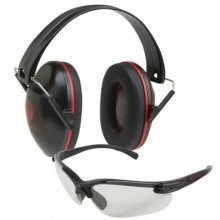 Allen Ruger Pro Class Ear Muff & Shooting Glasses Combo