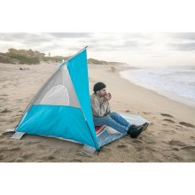 Stansport Portable Beach Camping Sun Shelter with Floor