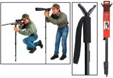 "Allen Deluxe Shooter's Staff, Adjustable 21.5""-61"" Black"