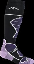 Darn Tough Women's Function 5 Over-The-Calf Midweight Ski & Snowboard Socks Cushion Large (Women's 10-11.5) Black