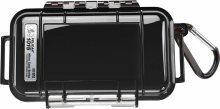 Pelican Products 1015 Micro Case Black w/transparent lid
