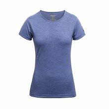 Devold Breeze Woman T-Shirt Extra Large Bluebell Melange