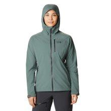 Mountain Hardwear Women's Stretch Ozonic Jacket Lrg Thunderhead Grey