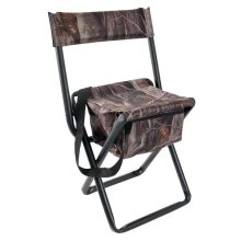 Allen Vanish Folding Stool with Back in Next G2 Camo