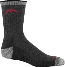 Darn Tough Men's Hiker Micro Crew Midweight Hiking Socks Cushion XL (Men's 12.5-14.5) Black